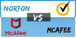 Norton Vs Mcafee