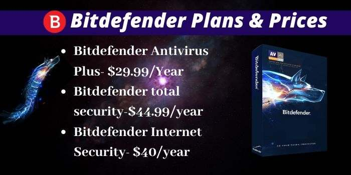 Bitdefender Plans and Prices