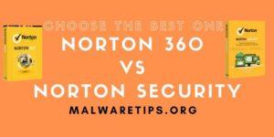 Norton 360 Vs Norton Security