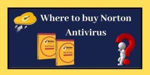 Where to buy Norton Antivirus