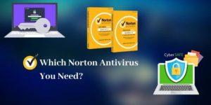 Which Norton Antivirus you need
