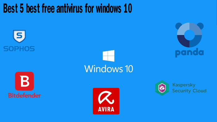 Best 5 best free antivirus for windows 10