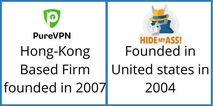 PureVPN VS HideMyAss About