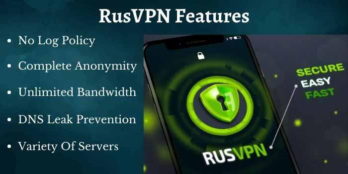 RusVPN Features